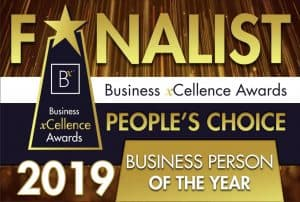 Business person finalist