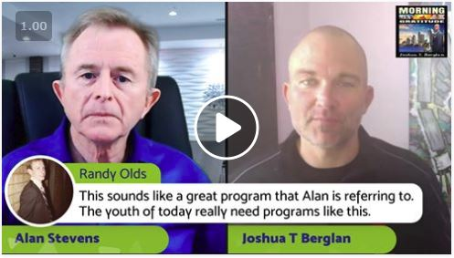 Joshua Berglan and Alan Stevens
