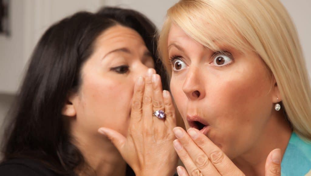 2 Women Whispering DepositPhotos cropped